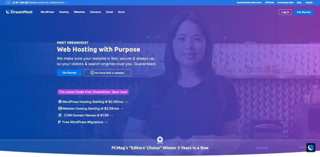 Dreamhost recensione hosting