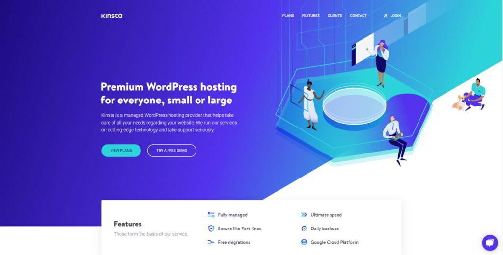 Kinsta è il Miglior Hosting Gestito per WordPress