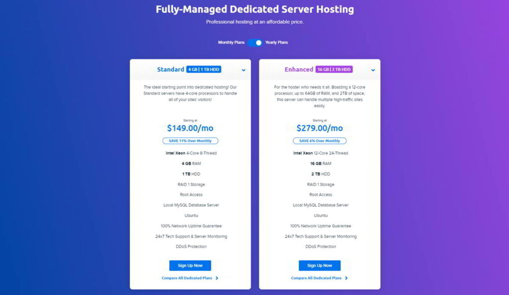 Managed Hosting Costi Dreamhost