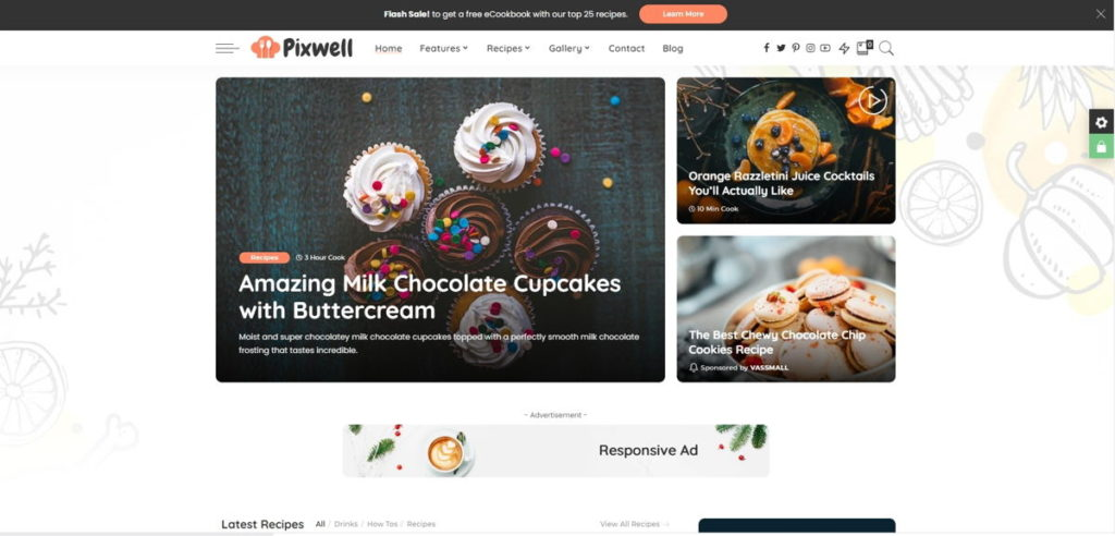Tema WordPress Pixwell