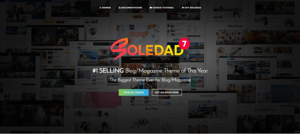 Tema WordPress Soledad
