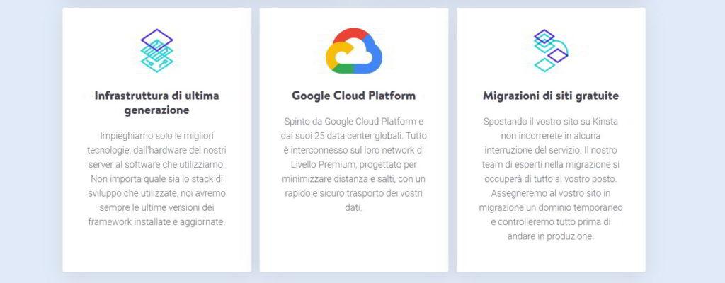 Kinsta e Google Cloud Platform