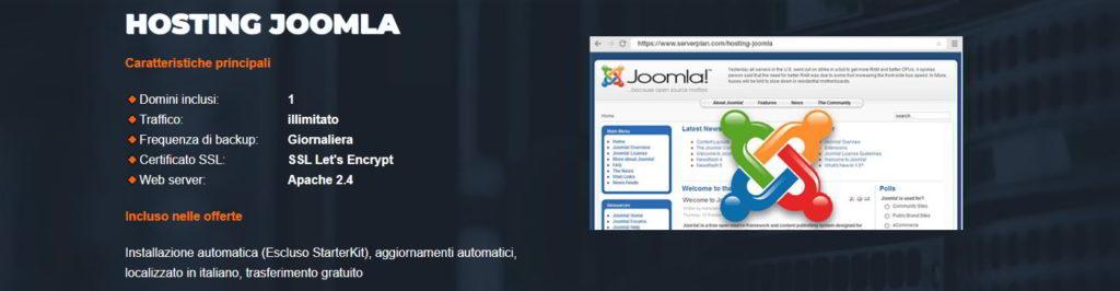 Hosting ottimizzato per Joomla!